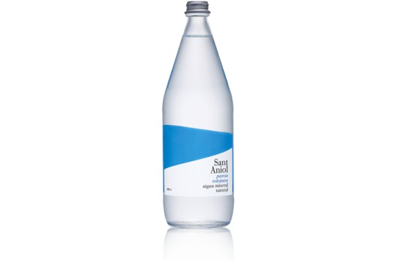 Aigua Mineral Natural Vidre 1L