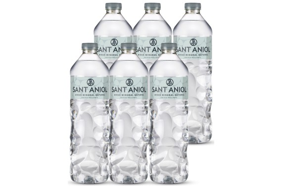 Aigua Mineral Natural (Pack 6 ampolles 1L)