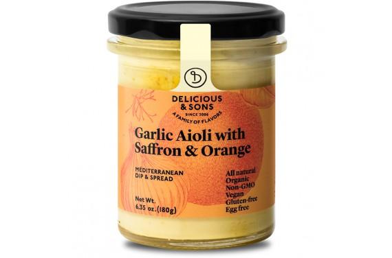 Allioli ecològic amb safrà i taronja