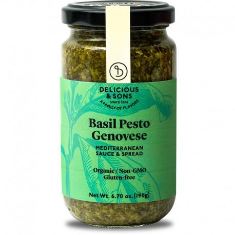 Pesto Genovese d'alfàbrega ecològic