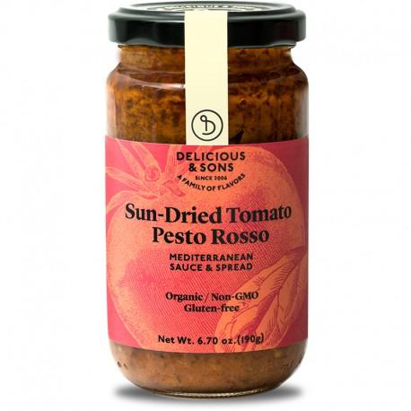 Pesto Rosso de tomàquets secs ecològic