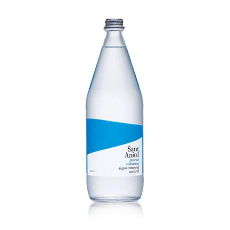 Aigua Mineral Natural Vidre 0.5L