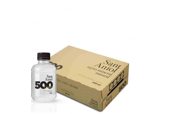 Aigua Mineral Natural - 500 Gotes (Pack 24 ampolles - 25cl)