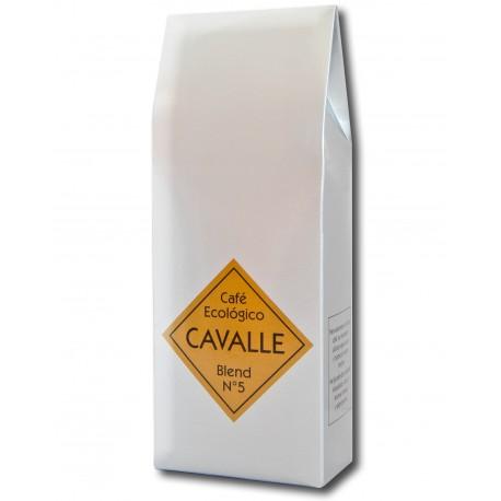 Cafè mòlt CAVALLE BLEND Nº5 ecològic