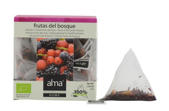 FRUITS OF THE FOREST INFUSION BIO 15 PYRAMIDS TEA BAG