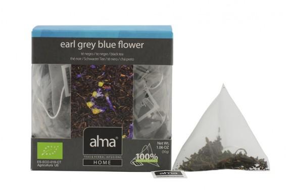 EARL GREY BLUE FLOWER TÉ NEGRO ECO 15 PIRÁMIDES