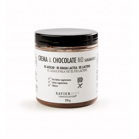 Crema & Chocolate Negra Sin azúcar